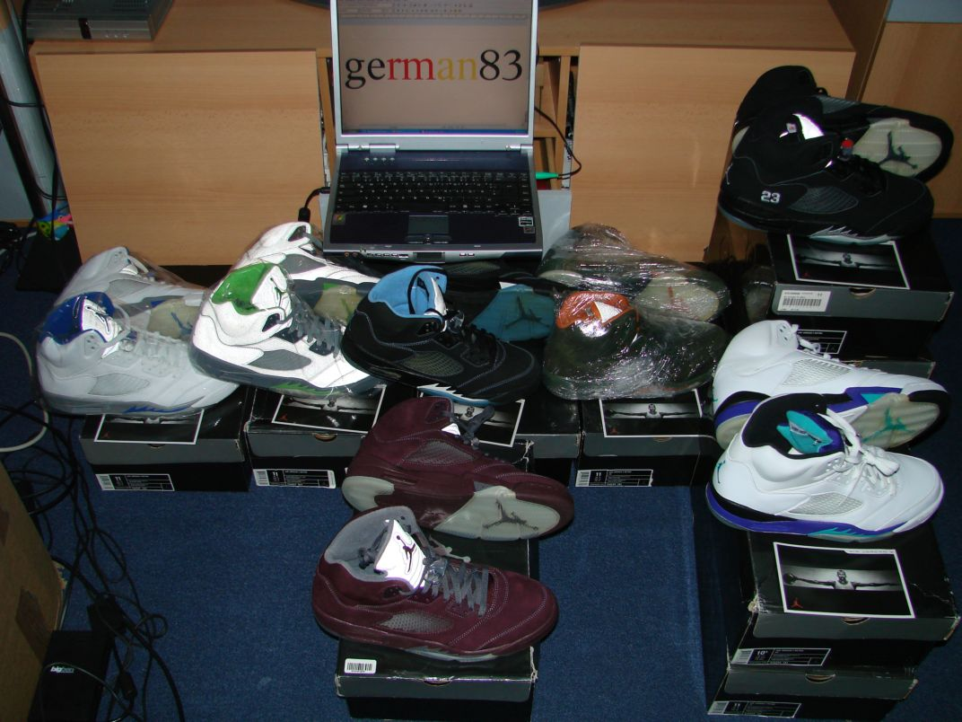 My Michael air Jordan shoe collection